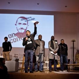 On continue …  22 janvier 2017, Meeting de la Société Civile