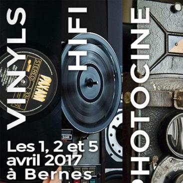 vinyls, hifi vintage, photographie et ciné à Bernes avril 2017