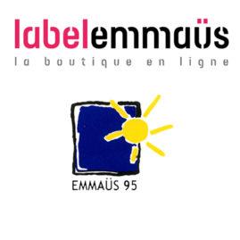 Emmaüs 95 est sur le Label