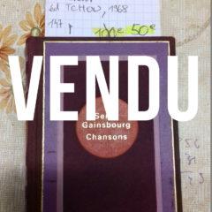 Serge Gainsbourg – Chansons cruelles