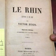 Le Rhin – Victor Hugo