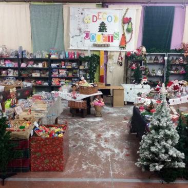 Vente de jouets et décorations de noël à Cergy du 23/11/2017 au 16/12/2017