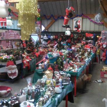 Vente décorations de noël à Bernes novembre décembre 2017