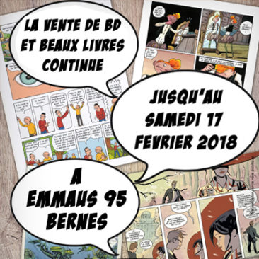 Vente BD et beaux livres jusqu'au samedi 17 février 2018 à Bernes sur Oise