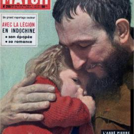 «Qui est l'Abbé Pierre » Paris Match n°255 du 13 au 20 février 1954