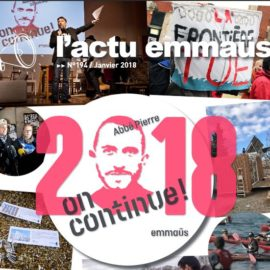 La lettre d'actu Emmaüs n°194 / janvier 2018