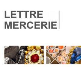 Lettre Mercerie Avril 2018 Vente vintage / Emmaüs 95 Cergy
