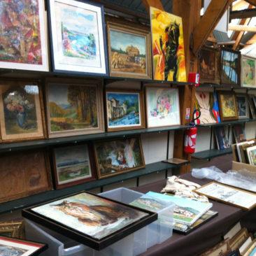 Vente de tableaux et cadres les12 et 13 mai 2018 à Bernes sur Oise
