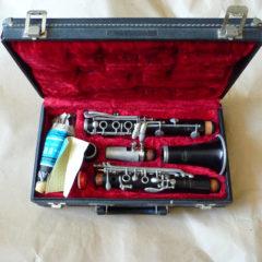 Clarinette Normandy (Noblet) vendue avec étui et accessoires