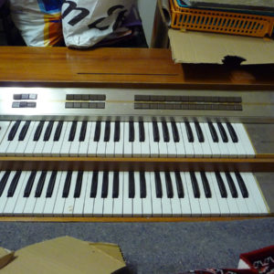 Orgue Philicorda GM 760 double clavier