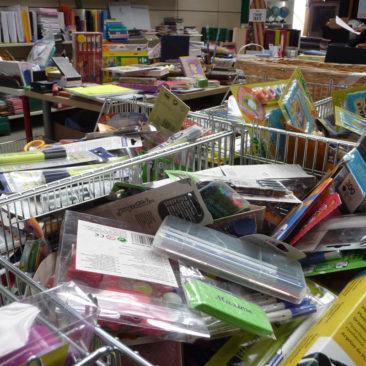 Vente de fournitures scolaires samedi 11 et dimanche 12 aoüt 2018 à Bernes