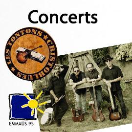 Les Tontons Cristoblues en concert à Bernes sur Oise