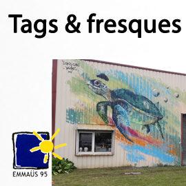 Une fresque poétique à Bernes sur Oise