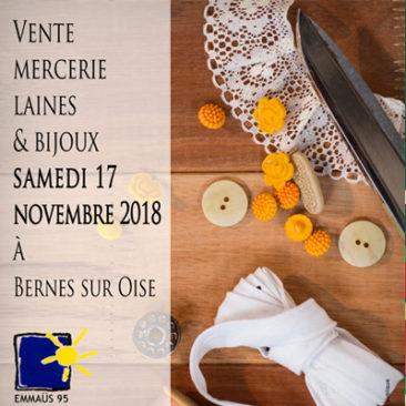 Mercerie, laines et bijoux le samedi 17 novembre à Bernes