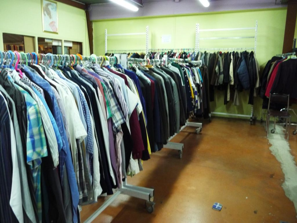 rayon vêtements