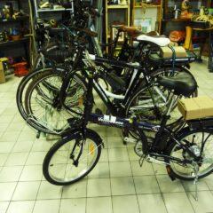 Vélos électriques et brics