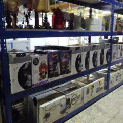 Gros stock électroménager neuf à la grande vente de Emmaüs – Bernes sur Oise
