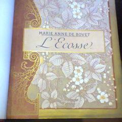 Livre L'Écosse par Marie-Anne de Bovet