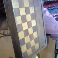 Ancien jeu de société en bois