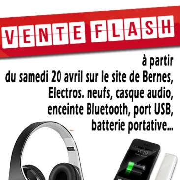 vente flash electros neufs a partir du samedi 20 avril à Bernes sur oise
