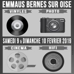 Bientôt des images de la vente vinyles, hifi, photo,ciné d'Emmaüs Bernes de mars