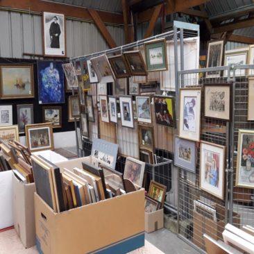 Vente cadres et tableaux les 9 et mars 2019 à Bernes sur Oise