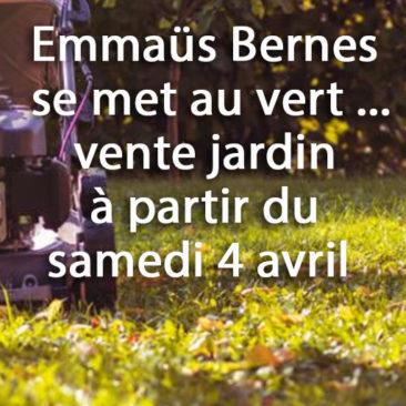 Vente jardin a partir du samedi 4 avril 2021 à Bernes sur Oise